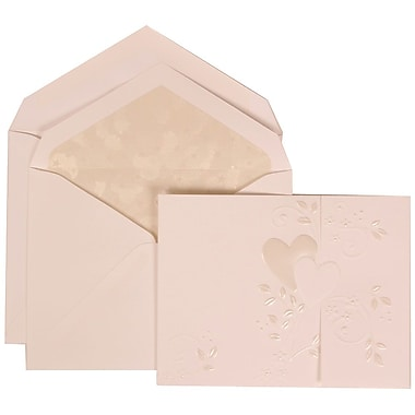 JAM Paper® Wedding Envelope Starlight Lined