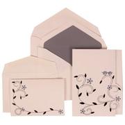 JAM Paper® Wedding Invitation Envelope Grey, 150/Pack
