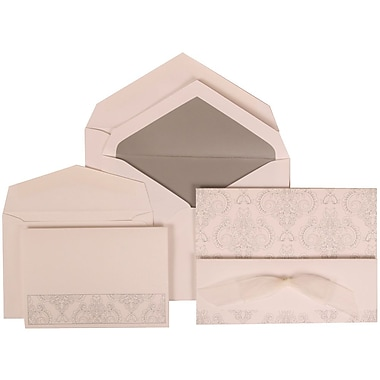 JAM Paper® Wedding Invitation Bouquet Bow Set