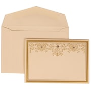 JAM Paper® Wedding Envelope Jewels & Ivory