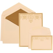 JAM Paper® Wedding Envelope Gold Lined