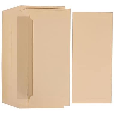 JAM Paper® Border & Pearl Lined Envelope Wedding Program Set