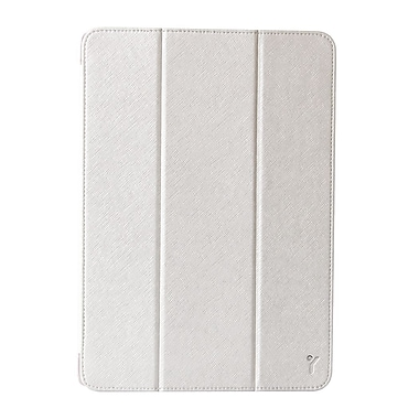 The Joy Factory CSA202 SmartSuit Synthetic Leather Folio Case for Apple iPad Air, Silver