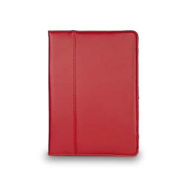 Cyber Acoustics iPad Air Leather Cover Case Red
