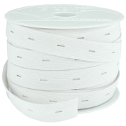 "Button Hole Elastic 3/4"" Wide 30 Yards-"