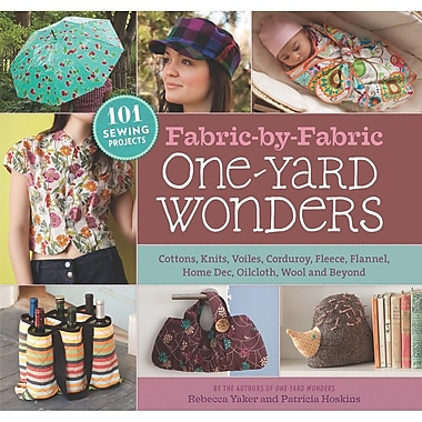 Storey Publishing, Fabric-By-Fabric One-Yard Wonders