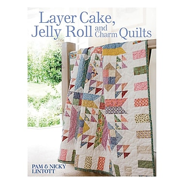 David & Charles Books, Layer Cake, Jelly Roll And Charm Quilts