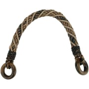 "Roped Purse Handle 12""-Brown"