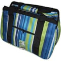 JanetBasket Blue Stripes Eco Bag, 18in.X10in.X12in.