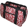 JanetBasket Red Floral Eco Bag, 18in.X10in.X12in.