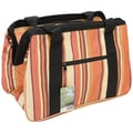 JanetBasket Brown Stripes Eco Bag, 18in.X10in.X12in.