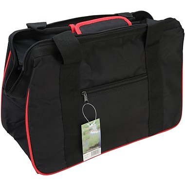 JanetBasket Black/Red Eco Bag, 18