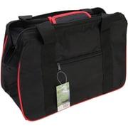 "JanetBasket Black/Red Eco Bag, 18""X10""X12"""