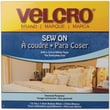 VELCRO(R) brand Sew-On Tape 3/4in.X45', White