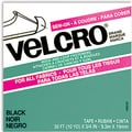 VELCRO(R) brand Sew-On Tape 3/4in.X30', Black
