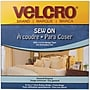 VELCRO(R) brand Sew-On Tape 3/4X30', White