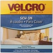 VELCRO(R) brand Sew-On Tape 3/4in.X30', White