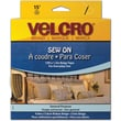 VELCRO(R) brand Sew-On Tape 1-1/2in.X15', Beige