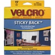 VELCRO(R) brand STICKY BACK(R) Tape 3/4in.x15', Navy