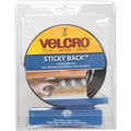 VELCRO(R) brand STICKY BACK(R) Tape 3/4in.X5', Black