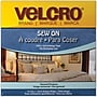VELCRO(R) brand Sew-On Tape 3/4X45', Beige