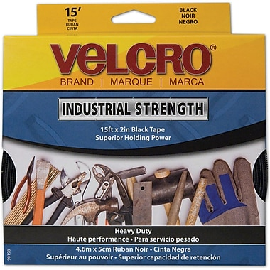 VELCRO® Brand Industrial-Strength Tape, White
