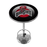 Ohio State Rushing Brutus Chrome Pub Table
