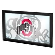 Ohio State Faded Brutus Framed Logo Mirror