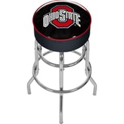 Ohio State Shadow Brutus Padded Bar Stool
