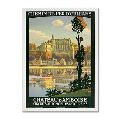 Trademark Fine Art 'Chateau D'Amboise' 35