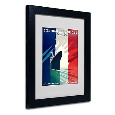 Trademark Fine Art 'Atlantique-Pacifique' 11