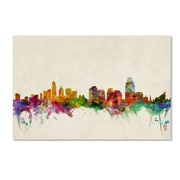 Trademark Fine Art 'Cincinnati, Ohio' 30 x 47 Canvas Art