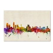 "Trademark Fine Art 'Liverpool, England' 22"" x 32"" Canvas Art"
