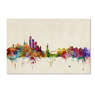 Trademark Fine Art 'New York, New York' 22