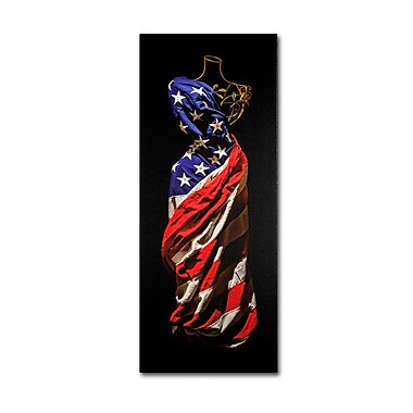 Trademark Fine Art 'American Dress'