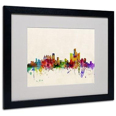 Trademark Fine Art 'Detroit, Michigan' 16