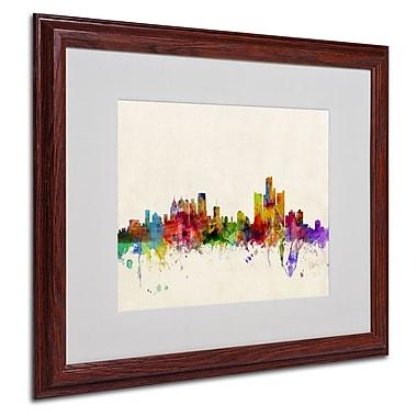 Trademark Fine Art 'Detroit, Michigan'