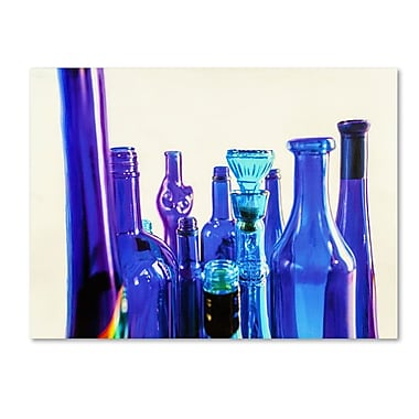 Trademark Fine Art 'Blue Bottle Tops' 18