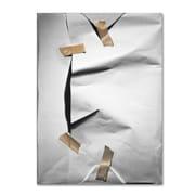 Trademark Fine Art 'White Wrap' 24 x 32 Canvas Art