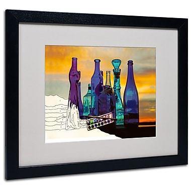 Trademark Fine Art 'Blue Sunset By Numbers' 16