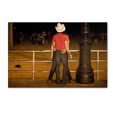 Trademark Fine Art 'Brooklyn Cowboy' 22
