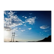 """Trademark Fine Art 'God's Country Color Route 66' 30"""" x 47"""" Canvas Art"""