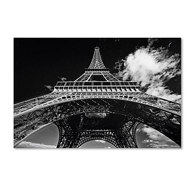 Trademark Fine Art 'Paris Eiffel Tower 1' 30