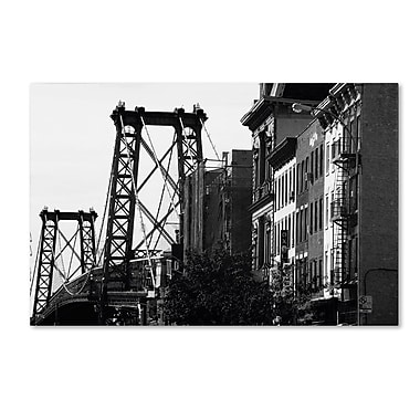 Trademark Fine Art 'Williamsburg Bridge' 30