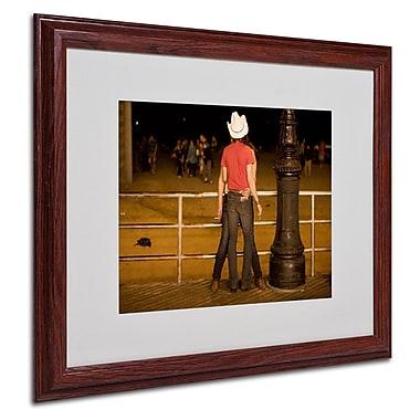 Trademark Fine Art 'Brooklyn Cowboy'