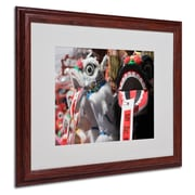 "Trademark Fine Art 'Chinese New Year' 16"" x 20"" Wood Frame Art"