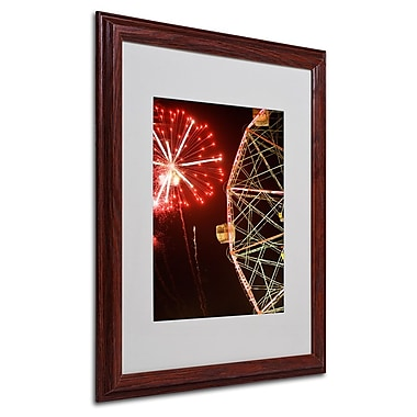 Trademark Fine Art 'Coney Island Fireworks' 16