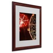 Trademark Fine Art 'CI Wheel Fireworks'