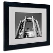 Trademark Fine Art 'Flushing Meadow Worlds Fair' 11 x 14 Black Frame Art