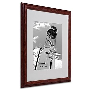 Trademark Fine Art 'Gas Pump'